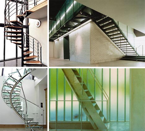 Open House: 10 Modern U0026 Spiral Staircase Design Pictures