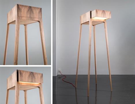 Fan Art Furniture Star Wars At At Walker Table Lamp