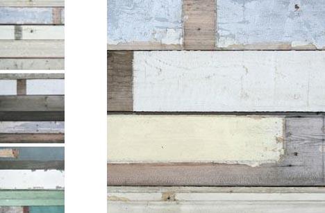 Old Pattern New Paper Vintage Scrap Wood Wallpapers