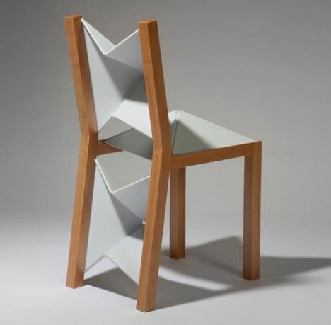 Charmant Crafty Wooden U0027Flex Chairu0027 Uses Clever Flat Folding Plastic