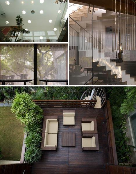 Dream Home Design Lush Landscape as Interior Decor Idea