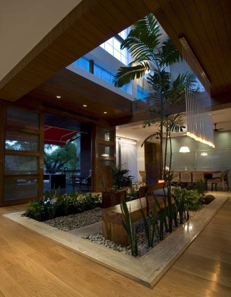 Dream Home Design: Lush Landscape as Interior Decor Idea ...