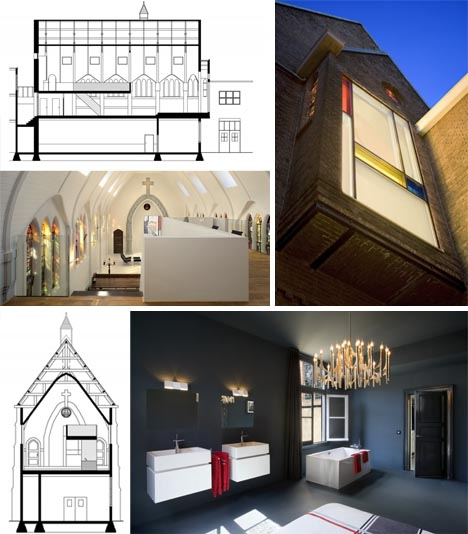 Divine White Interior: Church Remodeled into Modern Home on winter design house, ceiling design house, garden design house, sketch design house, bathroom design house, architecture design house, furniture design house, cottage design house,
