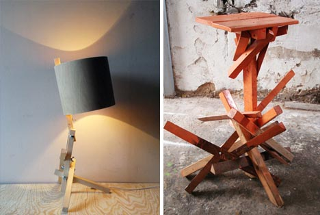 Superior Fast Furniture: 8 One Hour Per Piece Wood Craft Projects