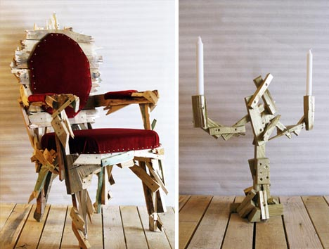 Marvelous Fast Furniture: 8 One Hour Per Piece Wood Craft Projects