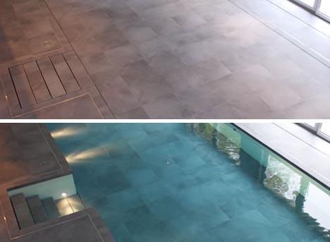 Walk on Water! HydroFloors Hide Under-Floor Indoor Pools | Designs ...