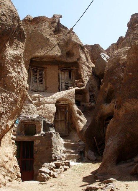 Cave Homes For Sale 700 Year Old Carved Rocks Of Iran