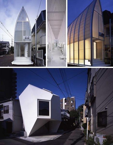 Japanese Home Cubes: 10 Neat Modern Box House Designs