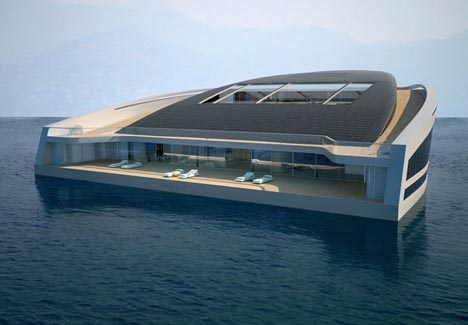 New Luxury Mega Yacht 10000 Sf Floating Super Mansion