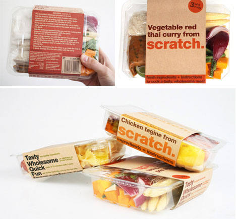 Meals From Scratch: Designer Read-Made-Ingredients Idea | Designs