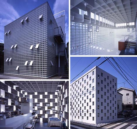 Japanese Home Cubes: 10 Neat Modern Box House Designs