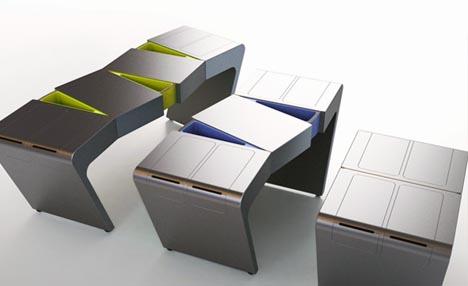 Attrayant Morphing Modernism: Minimalist Kitchen Island Design Idea