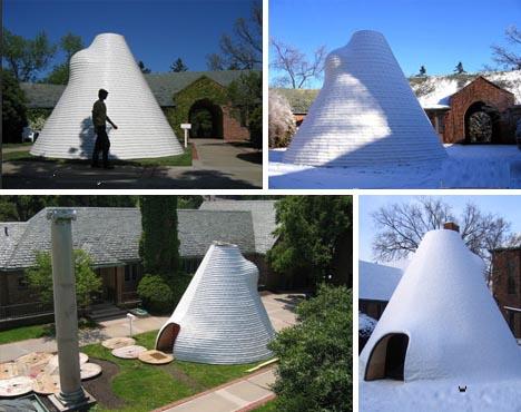 John ... & Suburban Nomad: Hybrid Igloo Yurt Tent + Tipi Home Idea