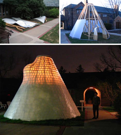 Suburban Nomad Hybrid Igloo Yurt Tent Tipi Home Idea