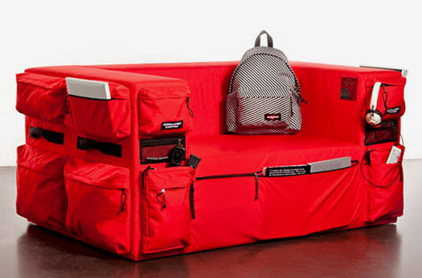 Couch Backpack Small Sofa With