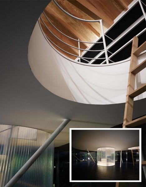 Stylish House On Stilts Has 360 Degree Deck Amp Spiral Stairs