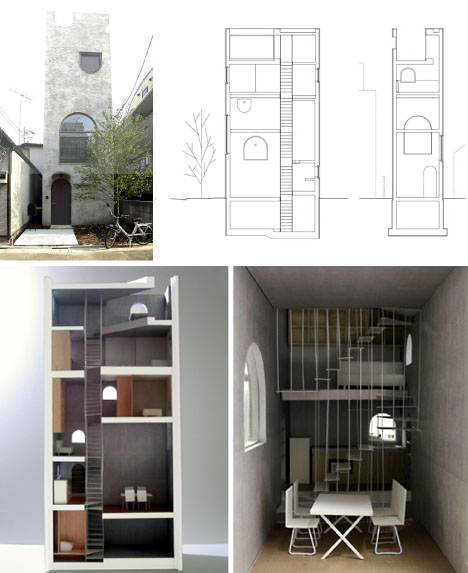 Tiny Houses Little Lots Floor Plans For Very Small Homes