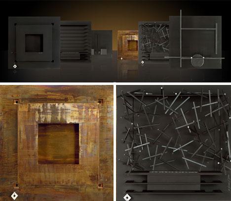 Burning Walls 8 Modern Wall Mount Art Fireplace Designs Designs Amp Ideas On Dornob