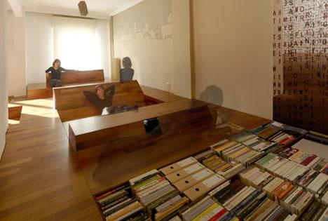 Beau Wood Waves: Bold Built Ins + Secret Under Floor Storage