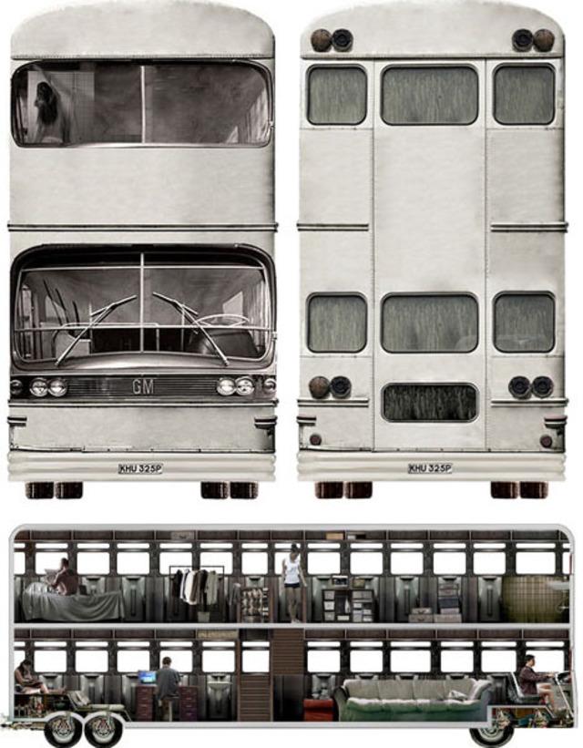 Double Decker Converted Bus Community Designs Ideas On Dornob