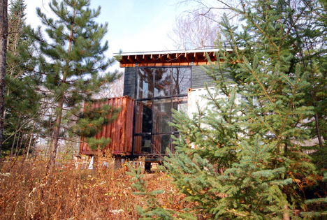 two if by sea diy cargo shipping container home on stilts rh dornob com