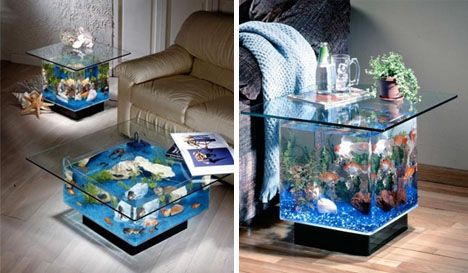 Though These Stunning Fish Tanks ...