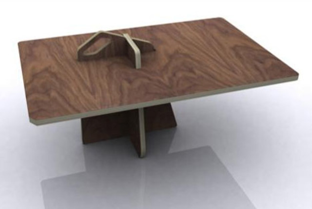 Plywood Flat Pack Table