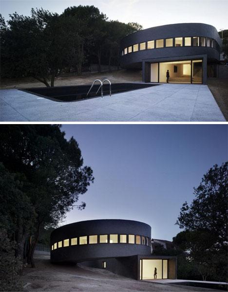 Round Home Design: Serene 360-Degree Spiral House Plan