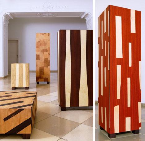 Thin Veneer Crazy Hardwood Finish For Plywood Furniture