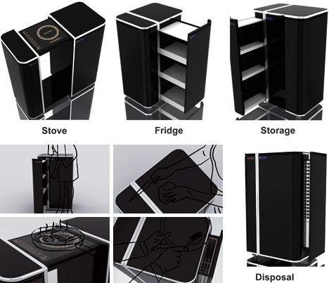 All In One Modern Portable Kitchen Designs Amp Ideas On Dornob