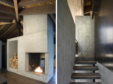 Future In Ruins Small Open Plan Concrete Wood Cabin