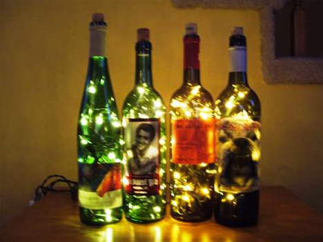 Black Labels, Bright Lights: 5 DIY Wine Bottle Lamp Projects