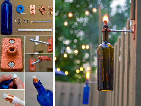 Black Labels Bright Lights 5 DIY Wine Bottle Lamp Projects