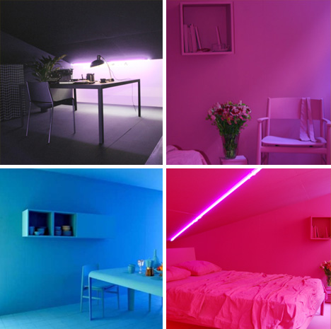 Color For Rooms 1 room, 1 color: powerful single-tone interior paint jobs