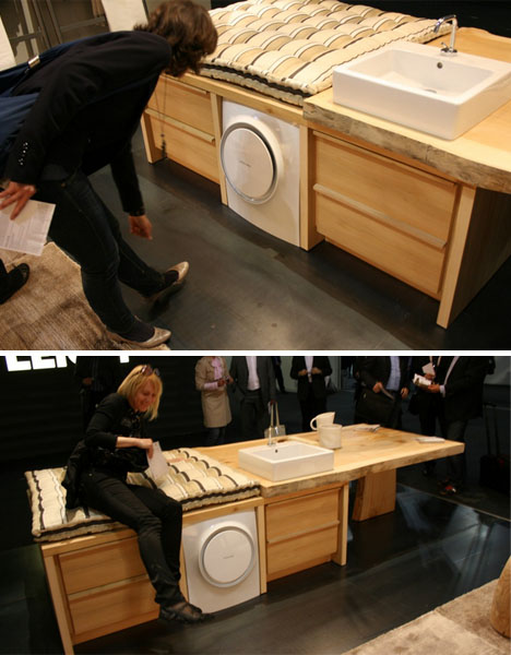 Mini Spin Washer: Super Small Wall Hung Washing Machine