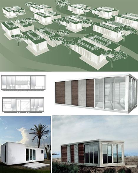 prefab modern cabin homes