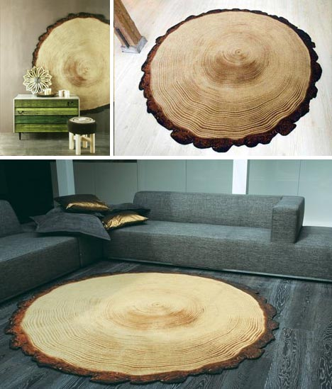 3 Fake Log Rugs Amp Faux Wood Carpets Sure To Fool You