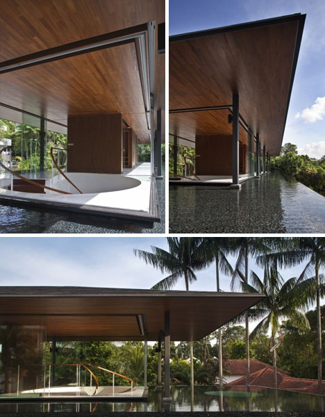 Modern Water Cooled Home In Singapore Designs Ideas On Dornob