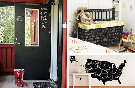 For The Diy Inclined Chalkboard Paint