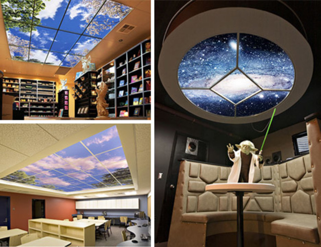 Fake Landscape Windows Amp Skylights Designs Amp Ideas On Dornob