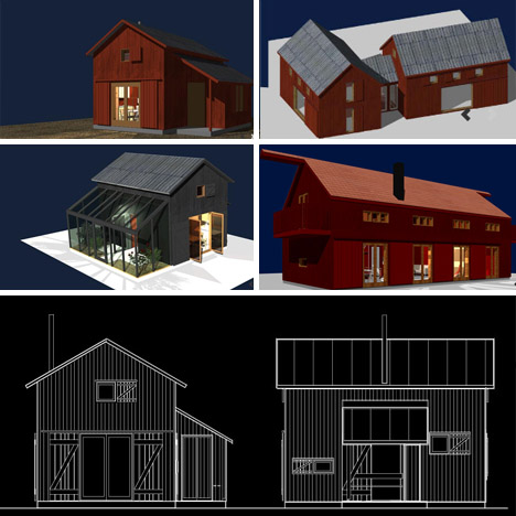 Chic Shacks 6 Stylish Sheds Barn Homes Hermit Cabins