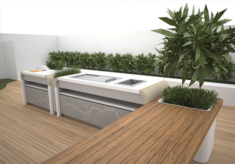 Forget Fire Pits: Ultimate Outdoor Kitchen Island Design ...