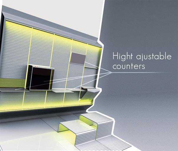 Futuristic Space Saving Fold Out Kitchen Designs Ideas On Dornob