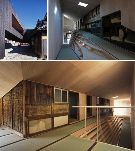 Modern Japanese Home Interior: 300-Year-Old Japanese House Wrapped In A Modern Home