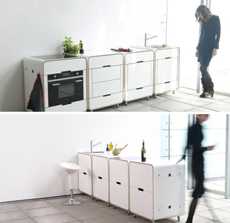 Cooking A La Carte 4 Modular Mobile Kitchen Mini Islands
