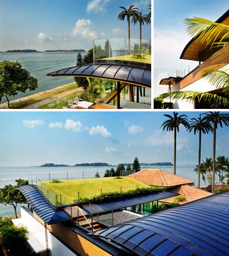 The Sun House By Guz Architects A Hevean Of Green In: Tropical Luxury + Green Living = Lofted Seaside Solar Home