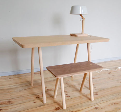 Unfinished Furniture Modular System Of Wood Legs Amp Pegs