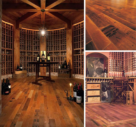 Better With Time Beautiful Aged Wine, Wine Barrel Laminate Flooring