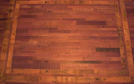 Better With Time Beautiful Aged Wine Barrel Wood Flooring