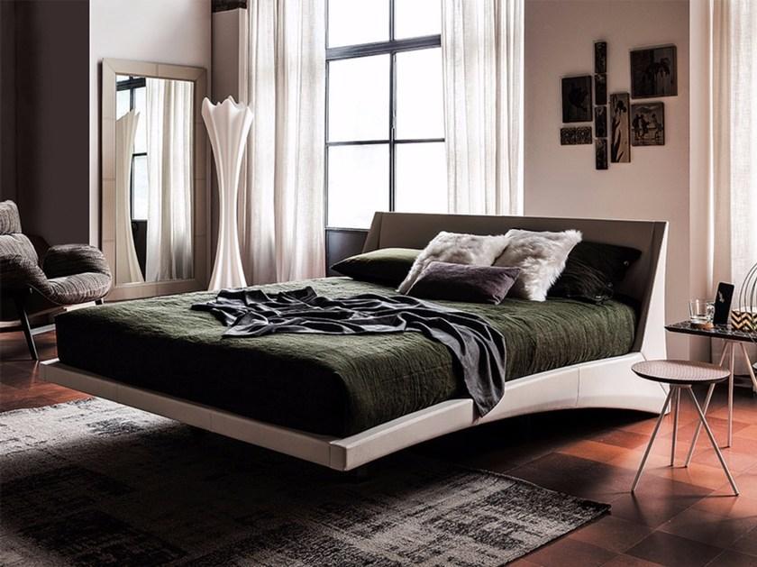 Dylan floating bed beige